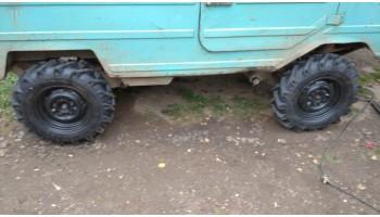 Видеоотчет от нашего Покупателя с установленными шинами Ozka 6.5/80 R13