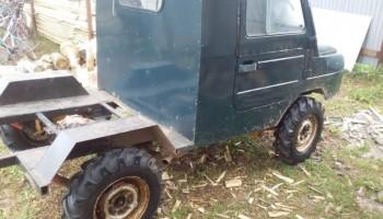 Тракторные шины Ozka 6.5/80 R13 на автомобиле ЛуАЗ