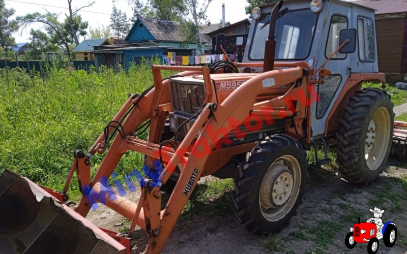 Шины Ozka 8.3-24 на тракторе передняя ось, фото видео от нашего Покупателя, MinyTraktor.ru