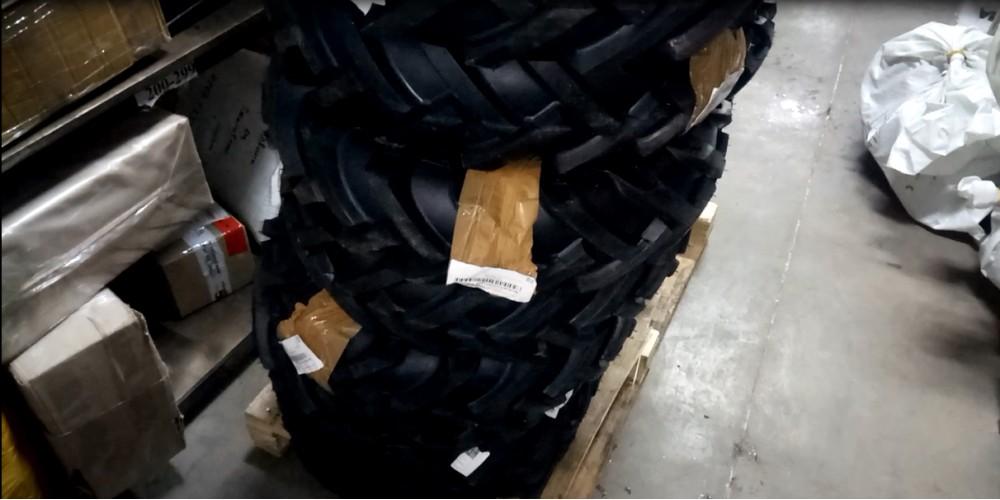 Поступление шин Озка 6.5/80 R13 на склад