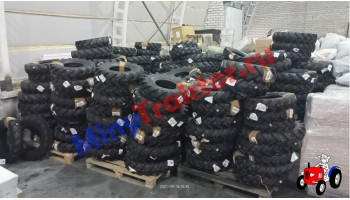 Большое поступление шин для минитракторов и мотоблоков на склад минитрактор ру, MinyTraktor.ru
