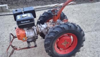 Ozka 6.5/80-13 на мотоблок вместо штатных шин, видео от нашего Покупателя из Иркутска